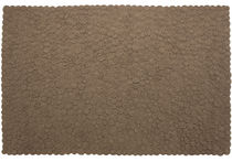 contemporary motif rug in New Zealand wool (handmade) BROWN by Martin Azua, Gerard Moliné nanimarquina