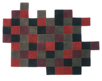 contemporary motif rug in New Zealand wool (handmade) DO-LO-REZ 2 by Ron Arad nanimarquina