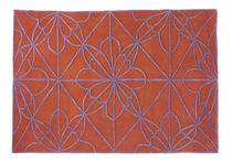 contemporary motif rug in New Zealand wool (handmade) AFRICAN HOUSE 1 by Nani Marquina nanimarquina