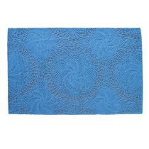 contemporary motif rug in wool (hand tufted) ECHO BLU DOT
