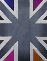 contemporary motif rug in wool (handmade) PICCADILLY CIRCUS By Second Studio