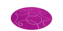 contemporary motif rug (round) STAMP Hey Sign