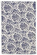 contemporary motif rug in cotton KALAMKARI  Williams Sonoma Home