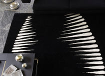 contemporary motif rug in New Zealand wool JUNGLE Nuova Linea Valentini