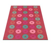 contemporary motif rug in New Zealand wool SUGAR BUTTONS CH Rugs