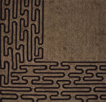 contemporary motif rug in wool EDGES Lee Jofa