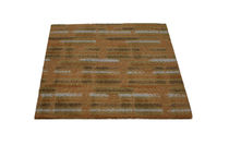 contemporary motif rug synthetic TERRACOTTA   Robert A.M. Stern Collection