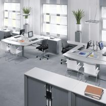 contemporary multiple workstation for open-space ELEKTRON Kembo