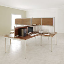 contemporary multiple workstation for open-space  Archi Caza