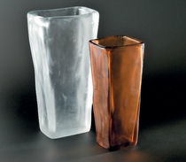 contemporary Murano glass vase AMORFO FORMIA-VIVARINI