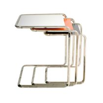 contemporary nesting table OBLIQUE : K 3 Tecta