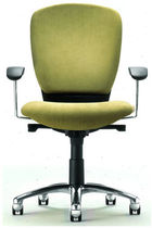contemporary office armchair KINGA Source International