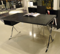contemporary office desk BARCELLONA LUXURY STAMPA COCCODRILLO SABINOAPRILE/Interior Design