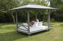 contemporary outdoor canopy bed  FARE OUTDOOR