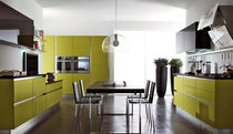 contemporary painted wood kitchen BRAVA CUCINE LUBE