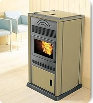 contemporary pellet wood stove STILE CS THERMOS S.R.L.