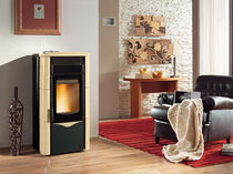 contemporary pellet wood stove (ceramic) TOSCA PLUS Nordica