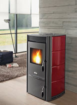 contemporary pellet wood stove (ceramic) CHANEL cadel