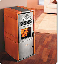 contemporary pellet wood stove (ceramic) KARINA CS THERMOS S.R.L.