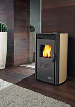 contemporary pellet wood stove (steel) ELEGANT cadel