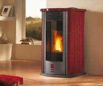 contemporary pellet wood stove W7000 Wanders