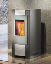 contemporary pellet wood stove PICO  Rika