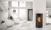 contemporary pellet wood stove IKADE  FRANCO BELGE