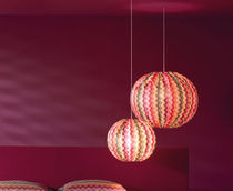contemporary pendant lamp (fabric) BUBBLE MISSONI HOME