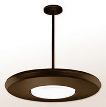 contemporary pendant lamp (fluorescent) ARIES Visa Lighting