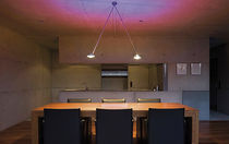 contemporary pendant lamp (halogen) SENTO: SOFFITTO DUE Occhio