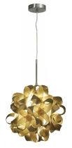 contemporary pendant lamp in solid non treated wood NA 808+C1022 AP Aromas del Campo