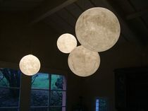 contemporary pendant lamp LUNA 1/2/3/4 in-es artdesign