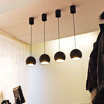 contemporary pendant lamp SPHERE 1 by Alain Monnens tossB