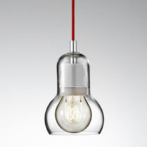 contemporary pendant lamp (blown glass) BULB SR1 by Sofie Refer Andtradition