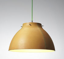 contemporary pendant lamp (leather) CORIUM PV1 by Pernille Vea Andtradition