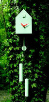 contemporary pendulum clock CUCKOO by Tobias Reischle Artificial jürgen j. burk