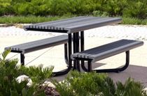 contemporary picnic table GRETCHEN landscapeforms