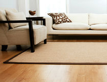 contemporary plain rug in sisal JABA Anji Mountain Bamboo Chairmat & Rug Co.