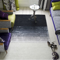 contemporary plain rug in wool CUTSWICK NOIR DESIGNERS GUILD