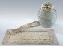 contemporary plain rug in linen MISTRAL ABYSS & HABIDECOR
