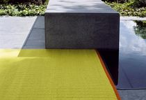 contemporary plain rug in New Zealand wool (handmade) TATAMI KINNASAND