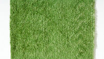 contemporary plain rug in wool (shag) STANDARD  a-carpet