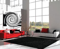 contemporary plain rug (shag) SPIDER SHAGGY BIZZARRE CONCEPT