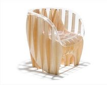 contemporary polycarbonate armchair HISTOGRAMS by Fabio Novembre NGISPEN