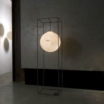 contemporary polycarbonate floor lamp (LUNA) F.MELOTTI  by Oçilunam in-es artdesign