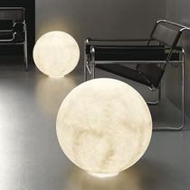 contemporary polycarbonate floor lamp FLOOR MOON 1 in-es artdesign