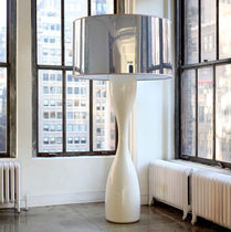 contemporary polycarbonate floor lamp JUJU by Filipe Lisboa VISO Lighting