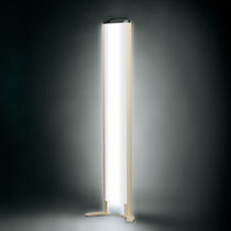 contemporary polycarbonate light column BUSY_CD by Jean-Pierre Vitrac SEAE