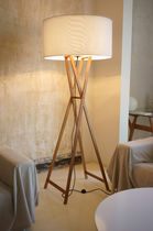 contemporary polyester floor lamp CALA by Joan Gaspar Marset Iluminacion