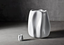contemporary polyethylene vase NEW WAVE by Ross Lovegrove SERRALUNGA